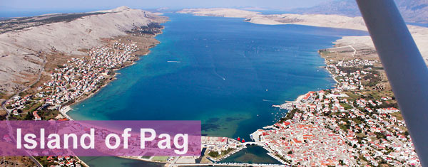 Island of Pag, Croatia